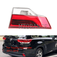цена на MIZIAUTO Inner Tail Lights Lamp For Toyota Highlander 2017 2018 2019 Taillight Rear Brake light Tail Lamps Fog lamp