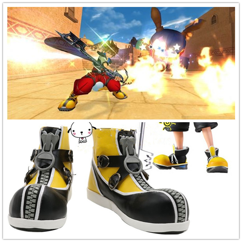 Anime Kingdom Hearts 2 Cosplay Shoes Sora Halloween Party Cosplay shoes
