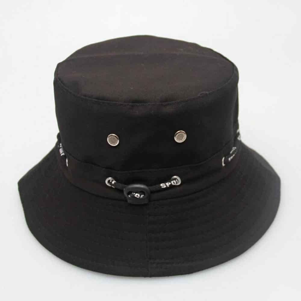 070d91355cf ... Unisex Women Men Bucket Hat Boonie Hunting Fishing Outdoor Cap Men s  Summer Autumn Sun Hats 2017 ...