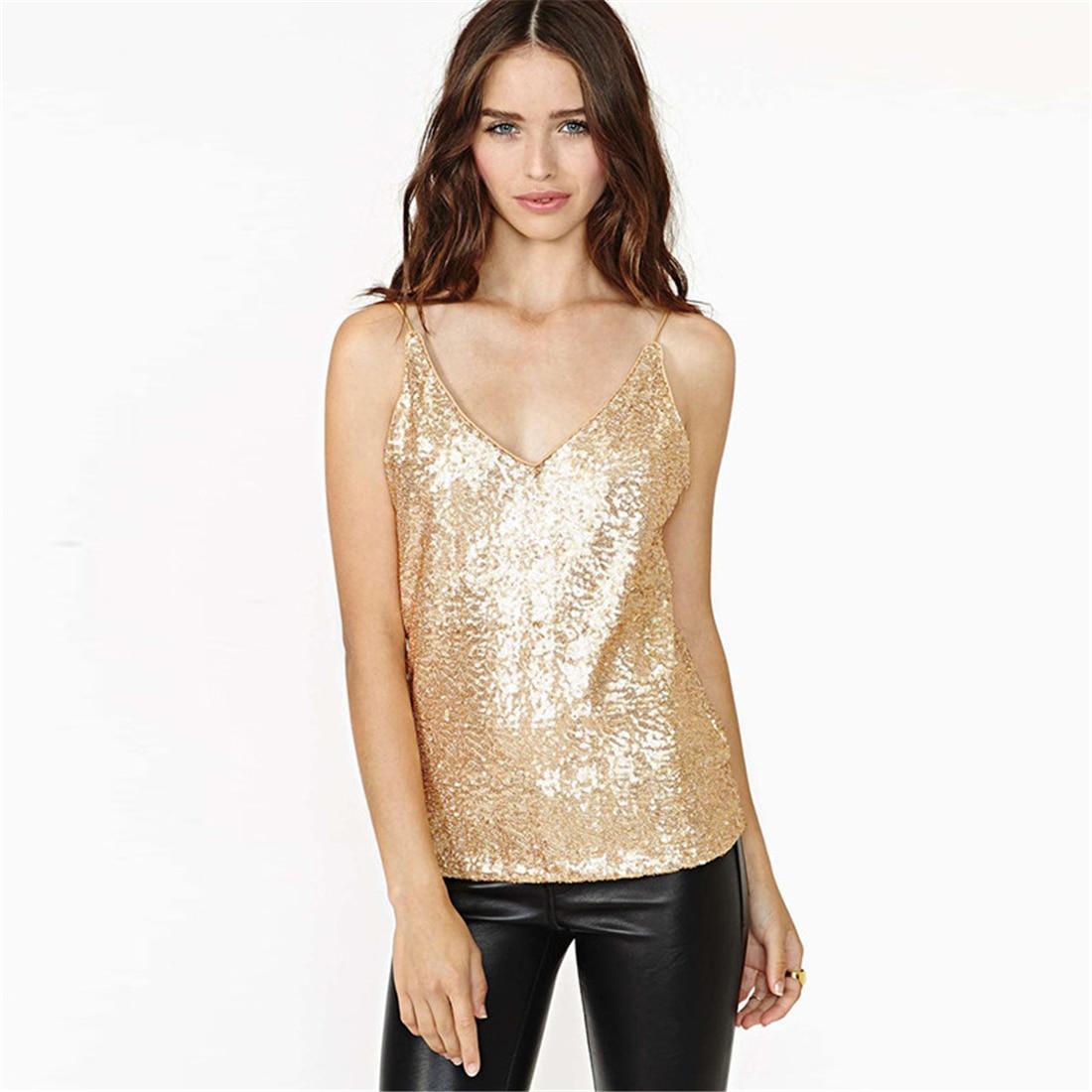 HTB1p0CiRVXXXXbuaXXXq6xXFXXXW - Tank Top Summer Sexy Sleeveless Shirts Gold JKP089