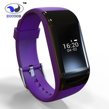 ZB71 Smart Wrist Band Watch Waterproof Bracelet Pedometer Fitness Tracker Heart Rate Monitor Bluetooth For iOS
