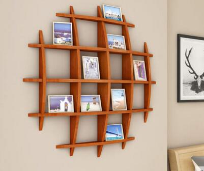 The wall shelf TV setting wall bookcase Display shelf