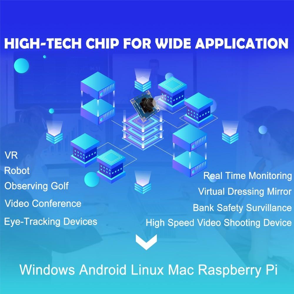 1080p Teljes Hd MJPEG 30fps / 60fps / 100fps Nagysebességű CMOS - Biztonság és védelem - Fénykép 4