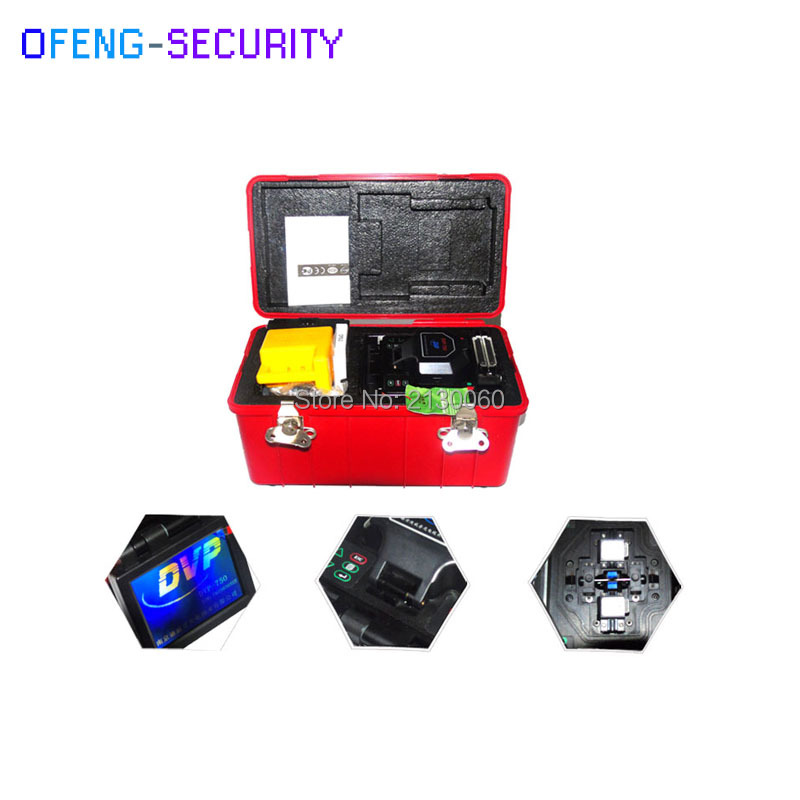 Hot Selling For DVP750 Optical Fusion Splicer Machine / Digital Fusion Splicer FSM Fusion Splicer