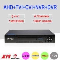 Hisilion Sensor Dahua Case Three In One 4 Channel 1080P 2MP Coaxial AHD H DVR Free
