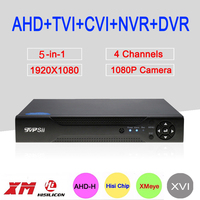 Hisilion Sensor Dahua Case Three In One 4 Channel 1080P 2MP Coaxial AHD H DVR Free