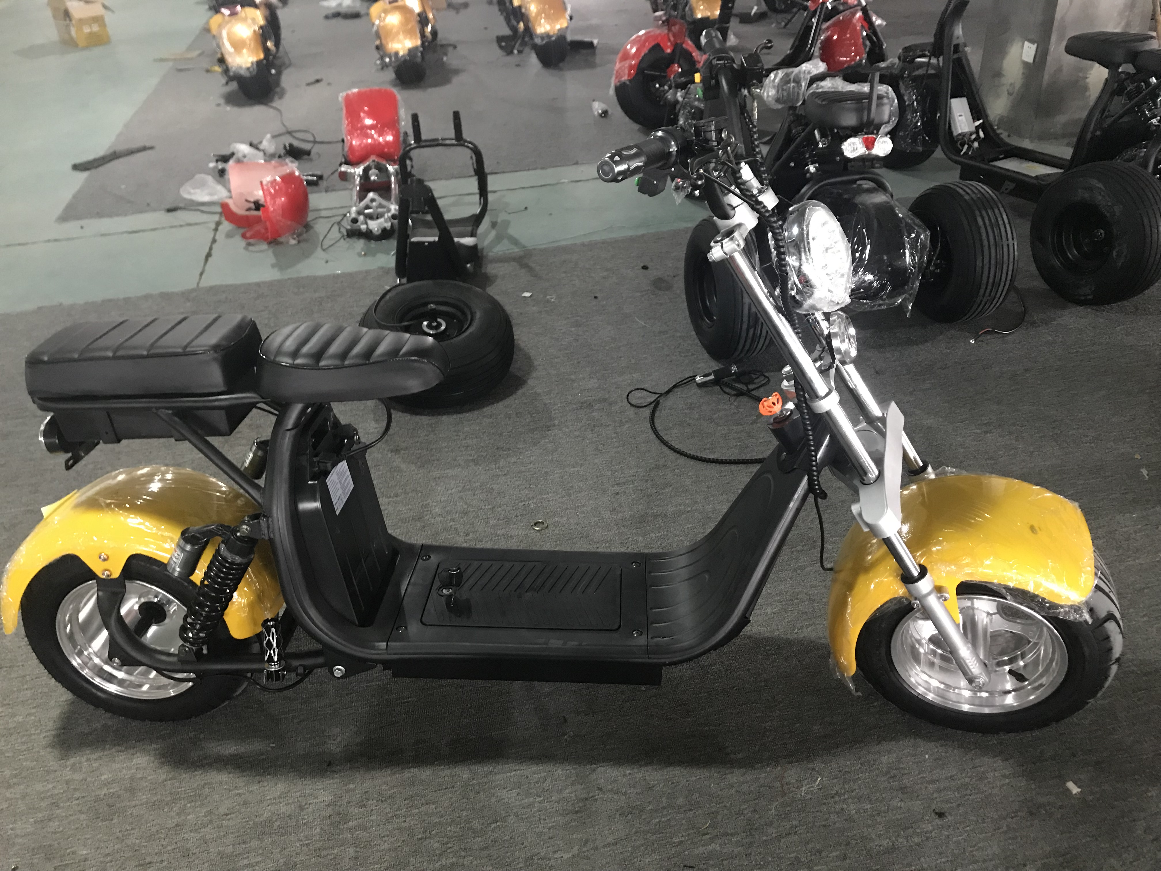 Sc11 + 10 pollici grande pneumatico 1500 w 60 v 20ah removbale batteria citycoco off road scooter elettrico nave da usa- holland