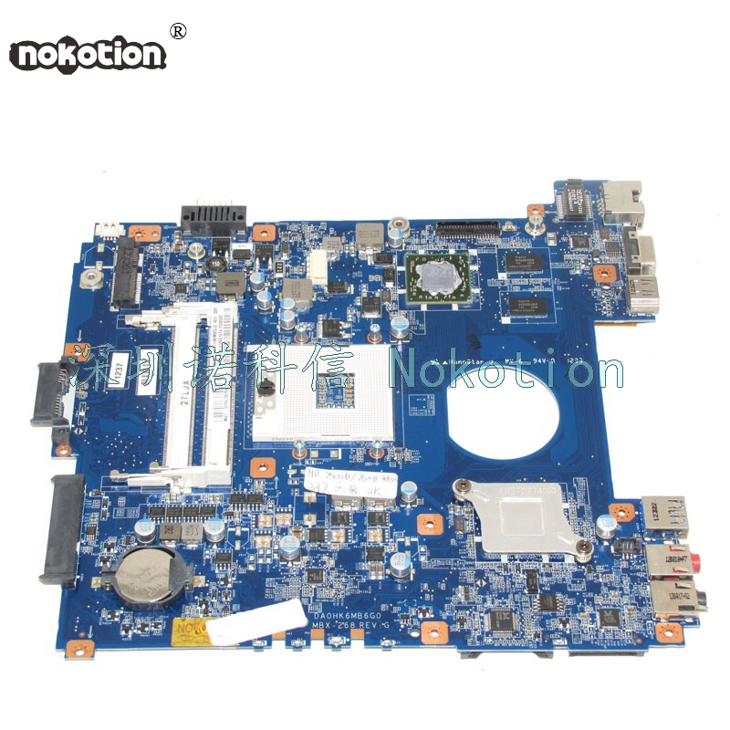 A1893197A DA0HK6MB6G0 MBX-268 for board Vaio SVE14 Laptop motherboard HD4000 HD7600M ddr3 Main board nokotion a1876092a da0hk6mb6g0 mbx 268 main board for sony vaio sve14 laptop motherboard ddr3 hd7600m video card