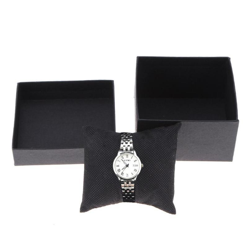 1 Pc Mode Uhr Box Leder Schmuck Halter Handgelenk Uhren Halter Display Lagerung Box Organizer Fall Geschenk