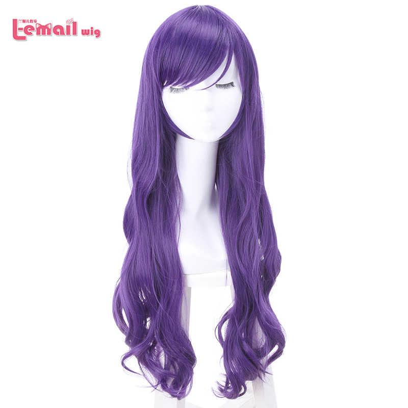 L-email парик новое поступление Love Live 9 символов разных цветов женские парики для косплея синтетические волосы Perucas Косплей парик