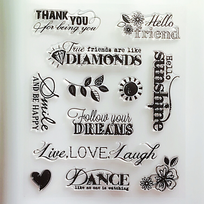Arts,crafts & Sewing Ylcs159 Network Silicone Clear Stamps For Scrapbooking Diy Album Paper Cards Making Decoration Embossing Rubber Stamp 10x15cm