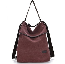 2016 Fashion Canvas handbag shoulder bag casual WOMEN BAG 9005