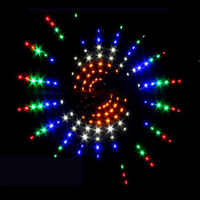 free shipping high quality 10sq.m large delta led kite line ripstop nylon outdoor toys flying birds kite accessory wind garden