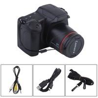Portable HD Digital Camera CMOS Manual Medium/Long Focus Optical Zoom SLR Operation Home Usage Anti Shake DV Camcorder