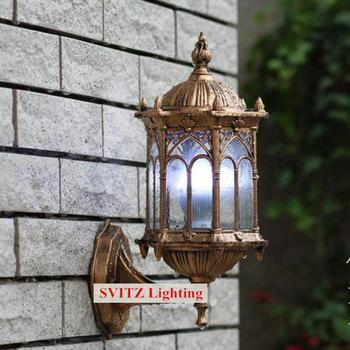 1 pc Aluminum Bathroom light Led wall Sconce waterproof garden lighting outdoor wall lamp American terrace wall lights abajur