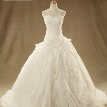 SOLOVEDRESS Luxury Wedding Dresses Ball Gown Court Train