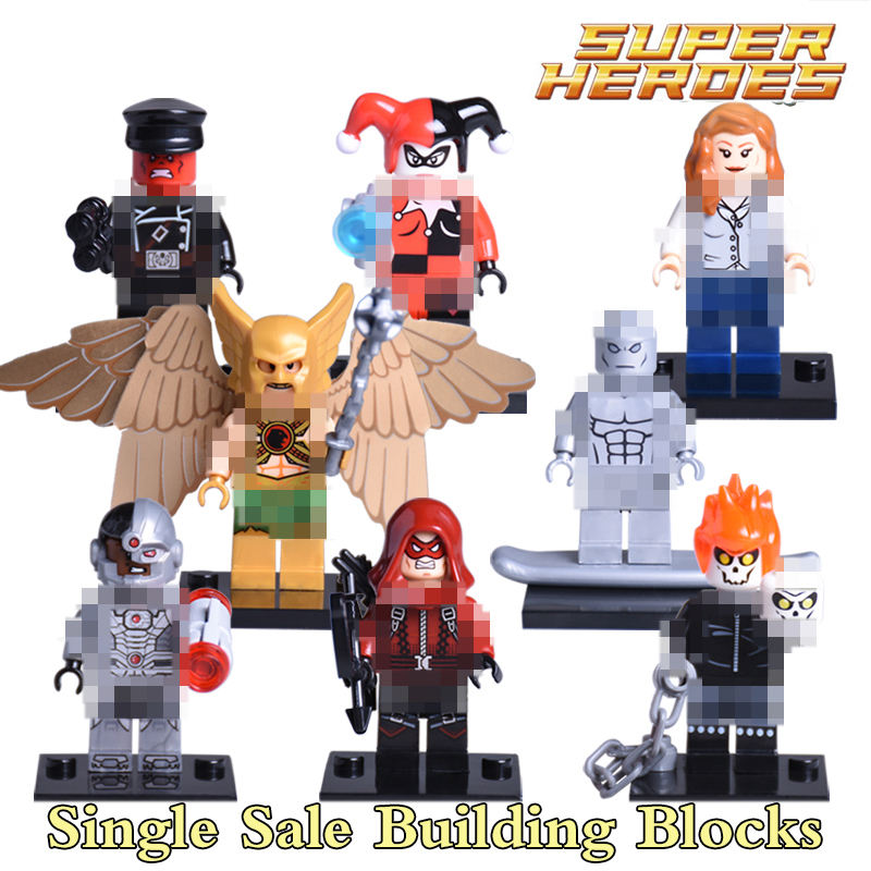 1pc Marvel Suicide Squad Joker Deadshot Building Blocks DC Batman Superhero Models Action Bricks Kids Diy Toys Xmas Gift lps pet shop toys rare black little cat blue eyes animal models patrulla canina action figures kids toys gift cat free shipping