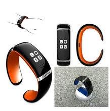 Nuevo Bluetooth Elegante Reloj de Pulsera L12S U Smartwatch Podómetro/anti-perdida/Música para Sincronización para HTC Huawei Android Smartphones