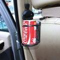 Universal plegable Auto portavasos coche coche botella marco del coche de respaldo del coche del sostenedor de taza
