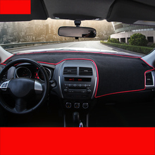 цена на Lsrtw2017 Polyester Car Dashboard Sun Shade Mat Heat for Mitsubishi Outlander Sport Asx RVR 2011-2019 Interior Accessories