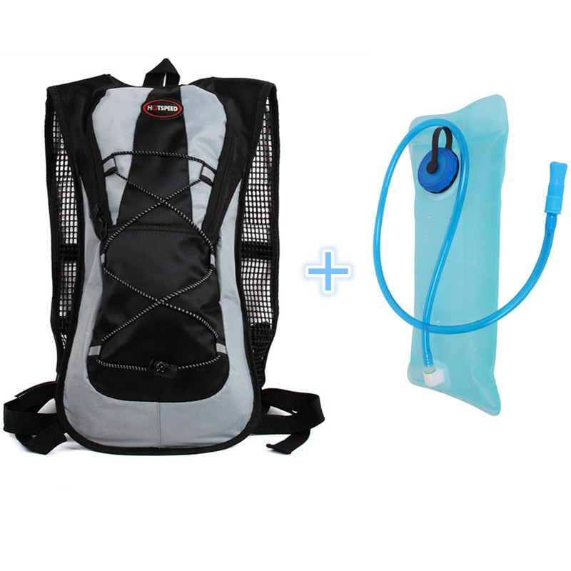 2l Outdoor Sports Cycling Water Bag Motorcycle Bicycle Mountaineering Water Bag, Backpack For Hot Water Box Hiking Humpback