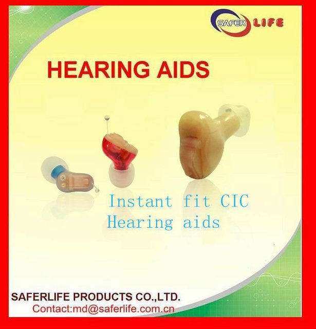 2015 New techinolgy Open Ear CIC Full digital 8 Ch ear hearing aids instant fit