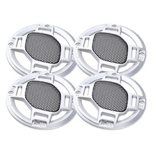 Pack of 4 3inch Speaker Grills Cover Case with Screws for Speaker Mounting Home Audio DIY 94mm Outer Diameter 4 3inch lms430hf22