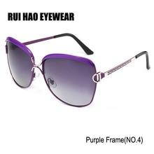 RUI HAO EYEWEAR Polarized Sunglasses Women Glasses Fashion Polarized Aviator Goggles Driving Sun Glasses oculos de sol feminino