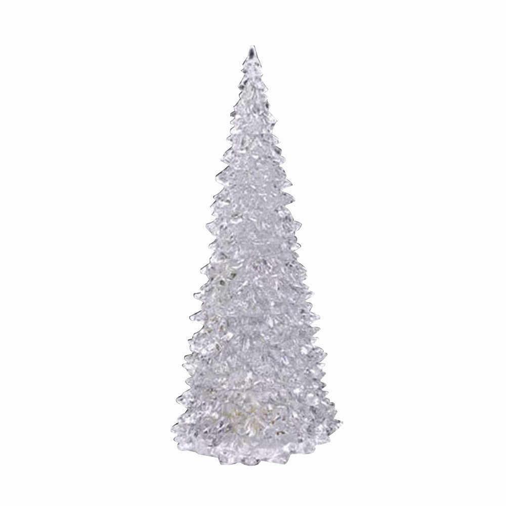 Рождественская елка, меняющий цвет, светодиодный светильник, украшение для дома, вечерние, свадебные, 1A10, Прямая доставка