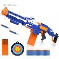 Pistola de Bala suave Rifle de Francotirador Pistola De Juguete De Plástico y 20 balas 1 Objetivo Electric Arme Orbeez Arma Pistola de Juguetes Para niños