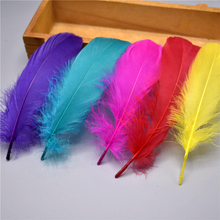 Wholesale Top Quality Natural Goose Feathers for crafts plumes 5-7inch/13-18cm DIY Jewelry Plume Feather Wedding Home decoration