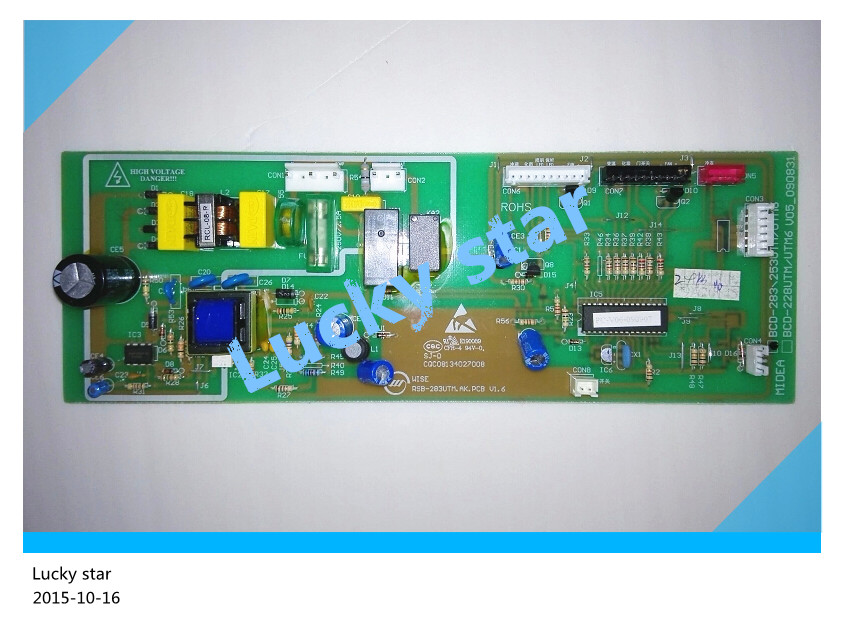 95% new for Midea refrigerator computer board circuit board BCD-283UTM 228UTM-MD BCD-228UTM6 board good working 95% new for haier refrigerator computer board circuit board bcd 551ws bcd 538ws bcd 552ws driver board good working