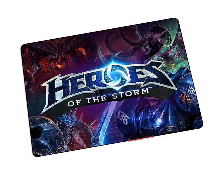 Heroes of the Storm mouse pad Personality pad to mouse notbook mousepad logo gaming padmouse gamer to laptop keyboard mouse mats