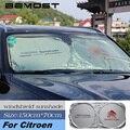 BEMOST лобовое стекло автомобиля солнцезащитный козырек для Citroen C1 C2 C3 C4 C5 хэтчбек Berlingo Xsara Picasso защита переднего окна козырек крышка