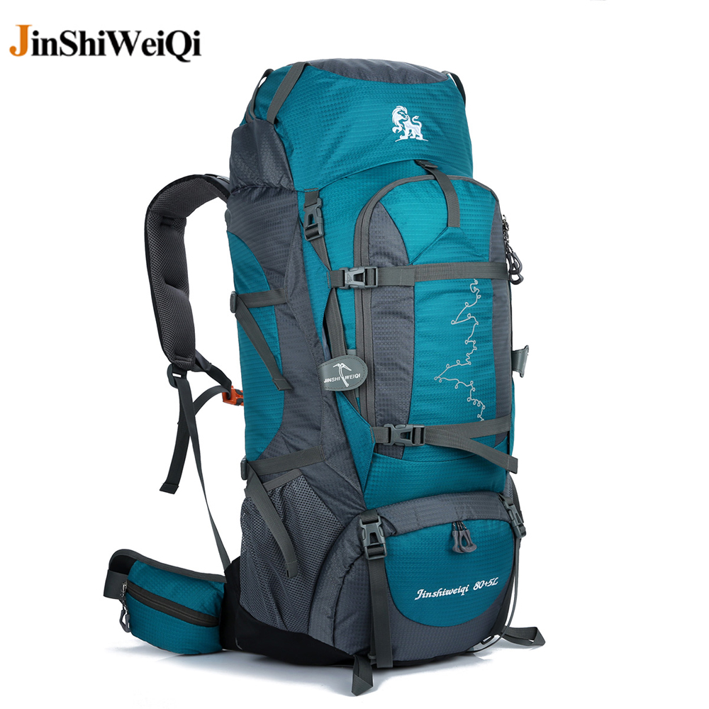 85L Waterproof Travel Hiking Backpack, Big Sports Bag For Women Men, Outdoor Camping Climbing Bag, Mountaineering Rucksack