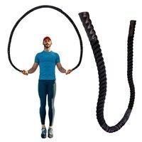 25mm fitness pesado pular corda crossfit ponderado batalha pular cordas treinamento de energia melhorar a força do músculo de construção 2.8 m/3 m