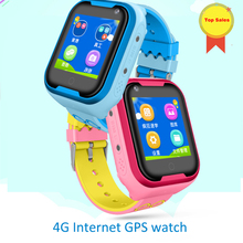 2019 4G GPS kid internet Smart Watch With Camera Flashlight Baby SOS Call Location Device Tracker for Kid Safe Smartwatch