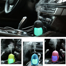 Night Light Penguin Humidifier USB Car Air Humidifier For Home Office Mini Mute Essential Oil Diffuser Mist Maker Fogger