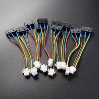 10 pces aquecedor de água a gás micro interruptor de três fios pequeno controle on-off sem lasca