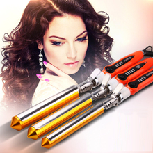 High Quality Hair Salon Spiral Ceramic Curling Iron Magic Hair Styling Tool DIY Hair Roller Magic Curling Iron Hair Styler