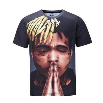 3D hombre hip hop rap hiphop camiseta hombres música rapper camisetas Snoop  Dogg J Cole xxxtentacion 21 salvaje drake Oxxxymiron 27aaa7ff56d