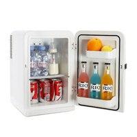 15L мини Главная Прокат двойного назначения электрические холодильники компактный портативный Frost бесплатный холодильник небольшой холоди
