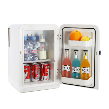 15L Mini Home Car Dual Use Electric Refrigerators Compact Portable Frost Free Fridge Small Refrigerating Freezer Thermoelectric