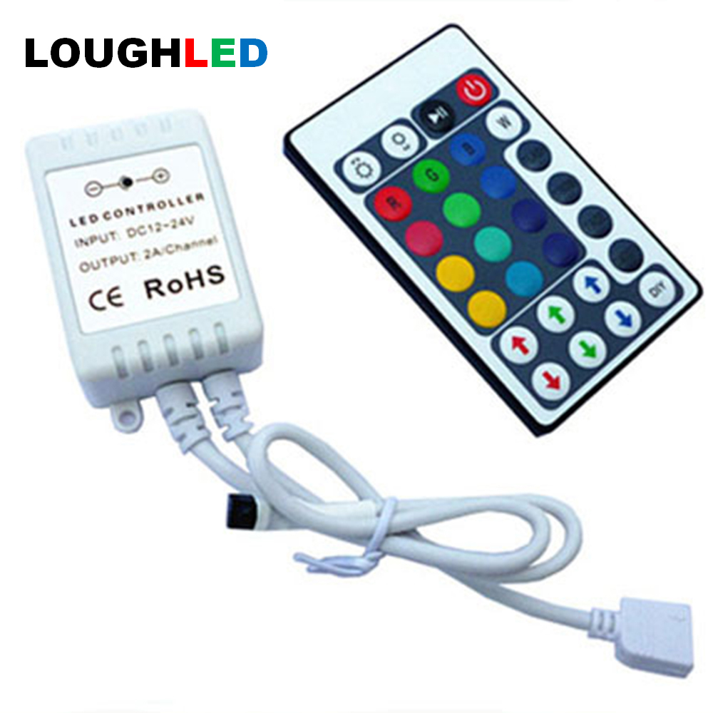 28keys RGB wireless LED Controller by remote with DIY function DC12V 6A 72W for LED LIGHT STRIP