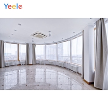 Yeele Photography Backdrops Interior Wall Decoration window white Curtain Customized Photographic Backgrounds For Photo Studio