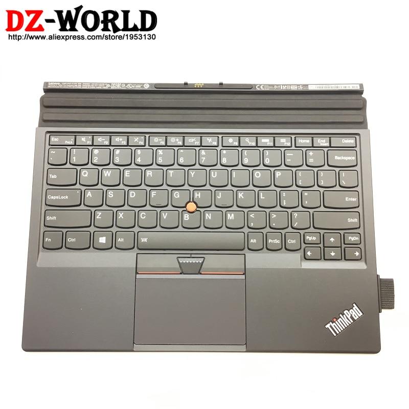 New Orig US English Backlit Backlight Keyboard for Lenovo Thinkpad X1 Tablet 1st 20GH 20GG w