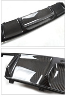 Fit for Mercedes Benz CLS63 AMG W218 RENNTECH carbon fiber Rear diffuser bumper rear lip