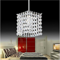 Modern crystal chandelier crystal lamps high quality LED lamps living room chandeliers E27 led lustre light chandeliers