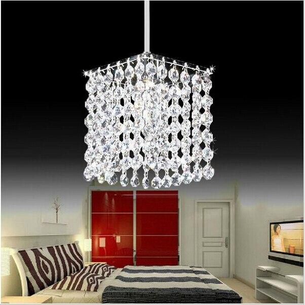 Modern Crystal Chandelier Lamps High Quality LED Living Room Chandeliers E27 Led Lustre Light