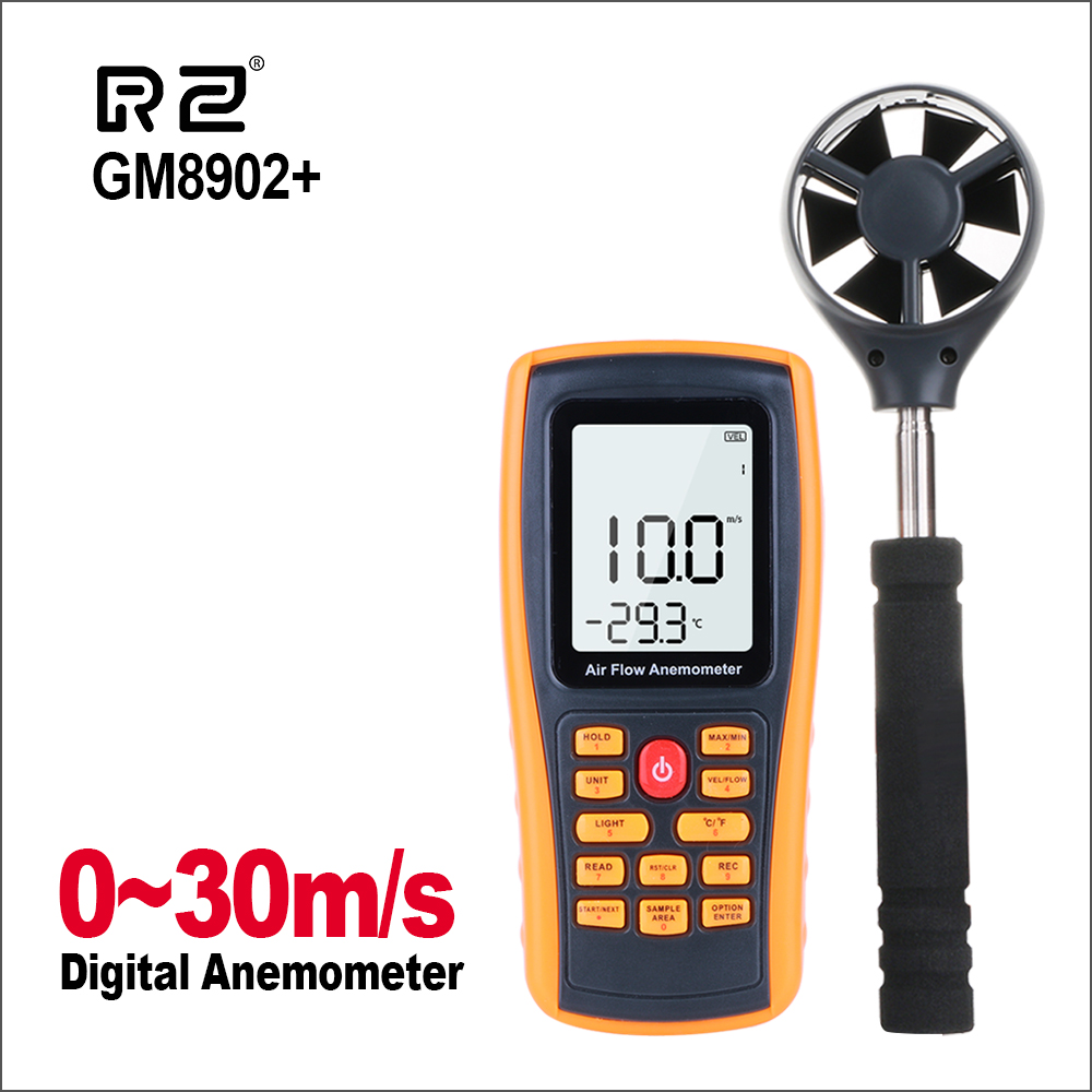 GM8902+ 0-45M/S Digital Anemometer Wind Speed Meter Air Volume Ambient Temperature Tester With USB InterfaceGM8902+ 0-45M/S Digital Anemometer Wind Speed Meter Air Volume Ambient Temperature Tester With USB Interface